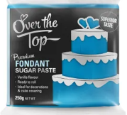 OVER THE TOP ICE BLUE FONDANT 250GM