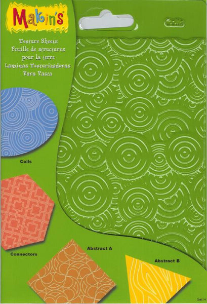 Makins Texture Sheets - Set H - Set of 4