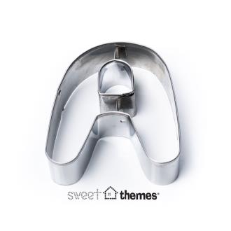 Letter A Stainless Steel Cookie Cutter
