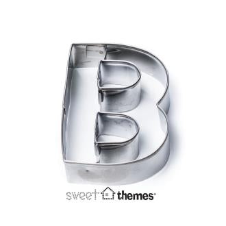 Letter B Stainless Steel Cookie Cutter