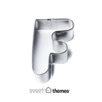 Letter F Stainless Steel Cookie Cutter