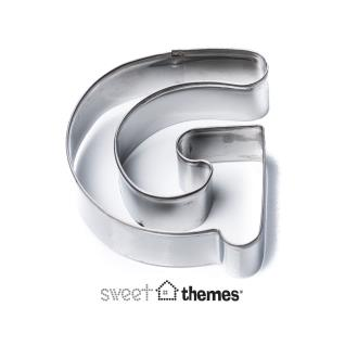 Letter G Stainless Steel Cookie Cutter