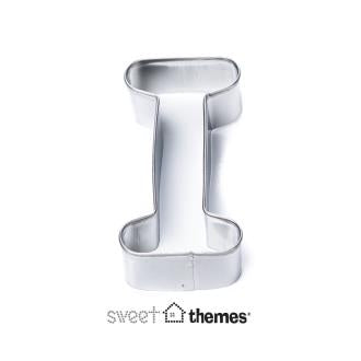Letter I Stainless Steel Cookie Cutter