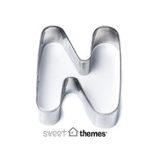 Letter N Stainless Steel Cookie Cutter