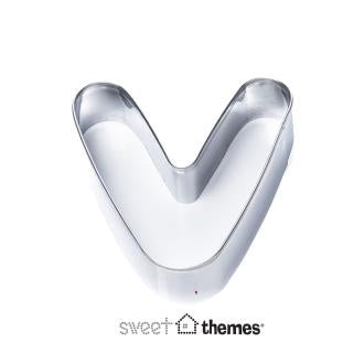 Letter V Stainless Steel Cookie Cutter