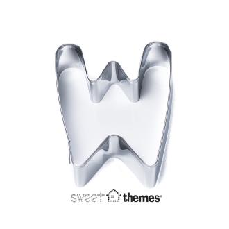 Letter W Stainless Steel Cookie Cutter