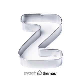 Letter Z Stainless Steel Cookie Cutter