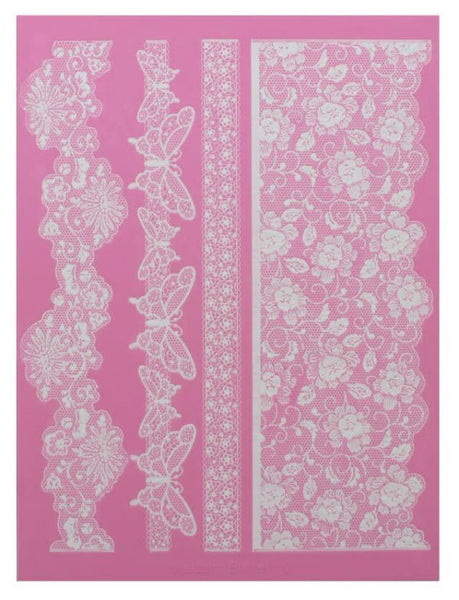 MADAME BUTTERFLY 3D CAKE LACE MAT - BY CLAIRE BOWMAN