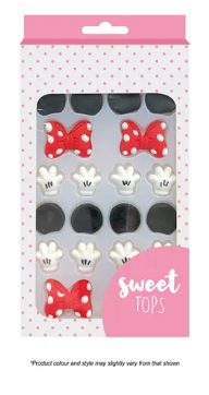 SWEET TOPS | MICKEY/MINNE MOUSE | DECORATING SET | 4 SETS