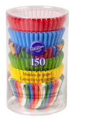 Wilton Mini Baking Cups Primary multi pack
