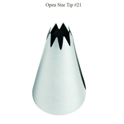 #21 WILTON OPEN STAR TIP