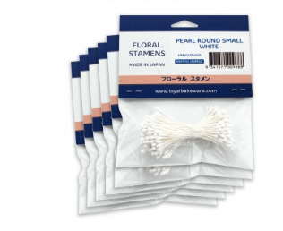 Loyal Flower Stamens - Pearl Round Small
