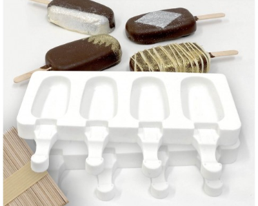 LOYAL POPSICLE SILICONE 2 MOULDS + 50 Sticks