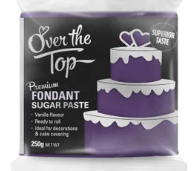 OVER THE TOP VIOLET FONDANT 250GM