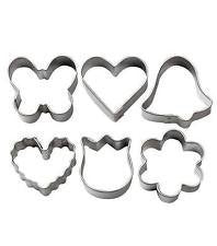 Wilton Mini Metal Cookie Cutter Set, Romantic 6 ct