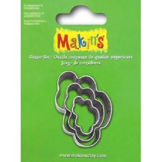 Makin's Cutter Set of 3 - Cloud