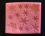 Cake Lace Mat - Snowflakes