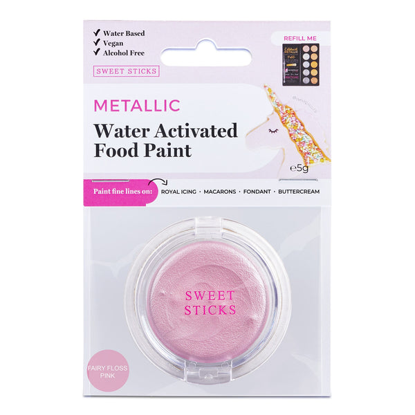 SWEET STICKS Water Activated Paint: Fairy Floss Pink
