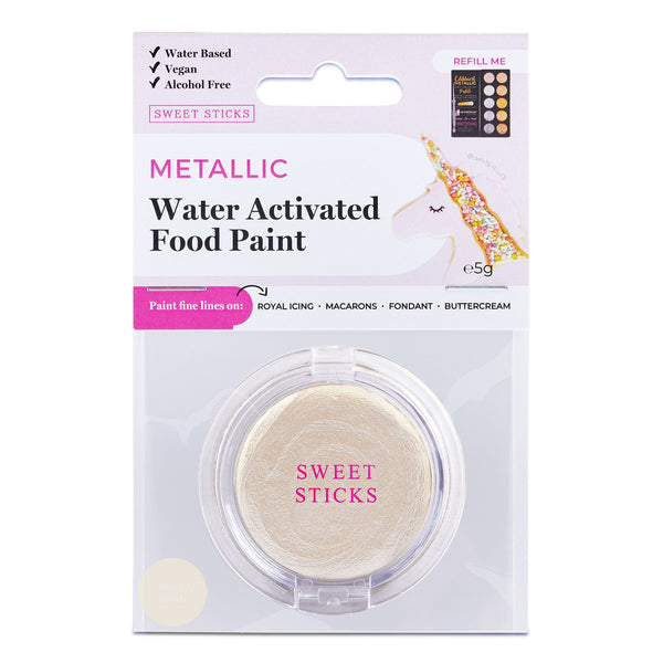 SWEET STICKS Water Activated Paint: Vanilla Bean