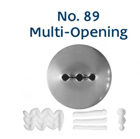 LOYAL No. 89 MULTI-OPENING STANDARD S/S Piping Tip