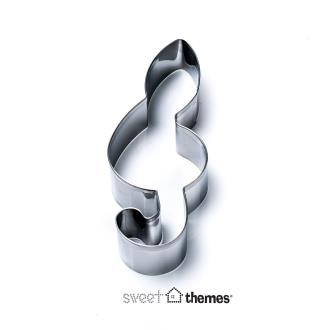Treble Clef Stainless Steel Cookie Cutter