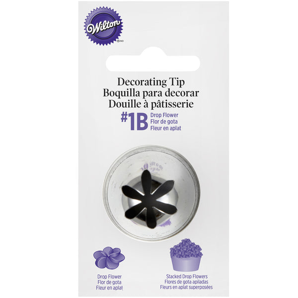 Wilton 1B Drop Flower Tip