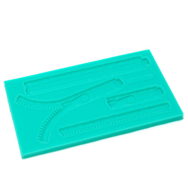 SILICONE MOULD - Zippers