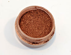 Smiled Like a Knife - Copper and Gold Duochrome Eyeshadow, Half Size Jar of Loose Pigment