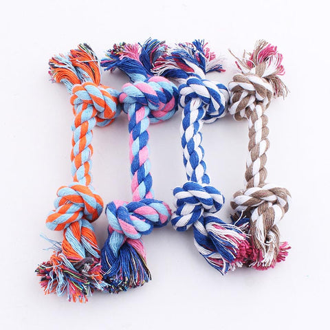 Braided Cotton Rope Chew Toy