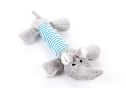 Friendly Animal Chew Toy