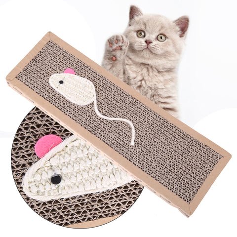 Simple Cat or Kitten Scratching Post