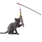 Feather Fishing Pole Cat Toy