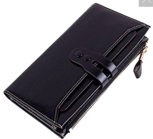 Women's Leather Wallets; Accessories