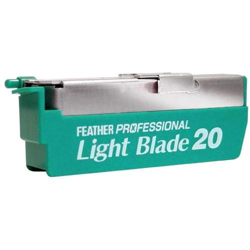 20 x Feather Artist Club Pro Light Blades PL-20 (Suitable for Japanese Kamisori Cut Throat Razor Razors)