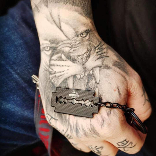 Accessories - Barbarossa Brothers Razor Blade Keyring