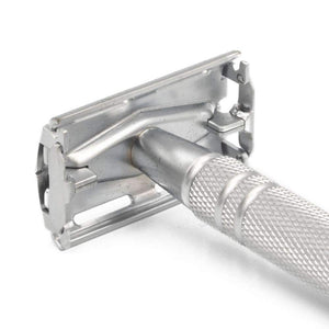Double Edge Razor - The P1R8 Double Edge Safety Razor In Chrome – Butterly Single Blade Shaving Razor