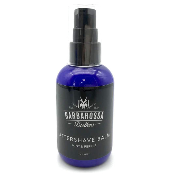 Post Shave Balm - Mint & Pepper Aftershave Balm