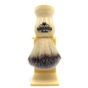 Shaving Brush - Premium Synthetic Silvertip Shaving Brush In Cream