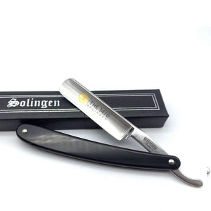 Straight Razor - The 1470 Black Resin Straight Razor 5/8""