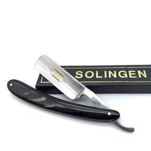 Straight Razor - The Sultan Buffalo Horn Straight Razor 6/8""
