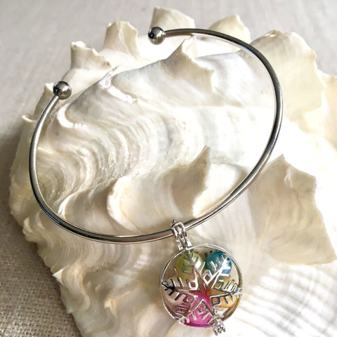 Sterling Silver Bracelet For Pearl Cages - Sterling Silver Jewelry