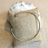 Sterling Silver Bracelet For Pearl Cages - - Jewelry