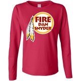 Fire Dan Snyder Long - Short Sleeve, Sleeveless