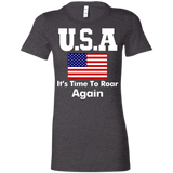 Usa It's Time To Roar Again Women's T-Shirt