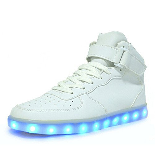 LED High-Top Shoes for Adults