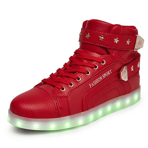 Fashion Adult Light Up Shoes
