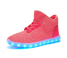 High Top Athletic Light Up Shoes (Adult Size)
