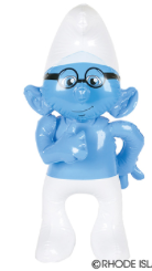 "Brainy Smurf Inflatable 24"" Tall"