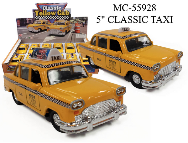 Classic Taxi Die Cast : Checker Cab 1:43 Scale