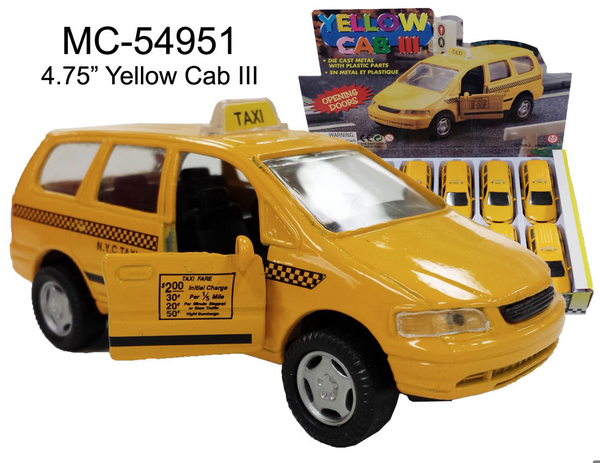 New York City Die Cast Taxi (Soccer Mom's Special): Mini Van